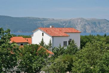 Pinezići, Krk, Property 5465 - Apartments with pebble beach.