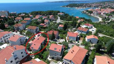 Krk, Krk, Property 5467 - Apartments with pebble beach.