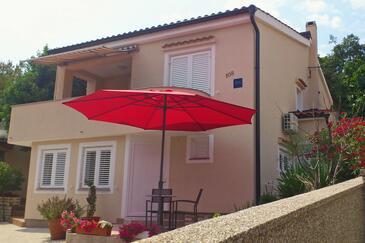 Čižići, Krk, Alloggio 5469 - Appartamenti affitto con la spiaggia sabbiosa.