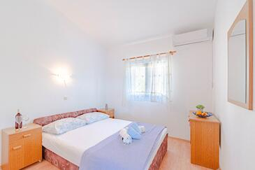 Zavalatica, Ložnice v ubytování typu room, s klimatizací a WiFi.