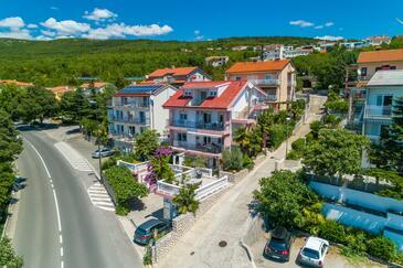 Crikvenica, Crikvenica, Объект 5478 - Апартаменты с песчаным пляжем.