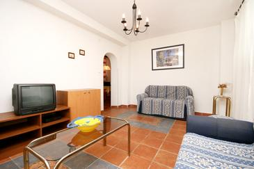 Selce, Living room in the apartment, WIFI.