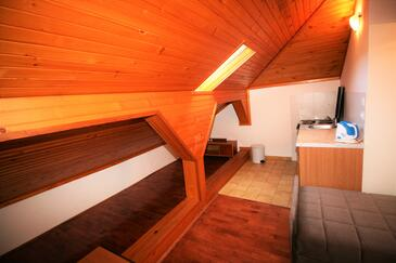 Selce, Kuchyně v ubytování typu apartment, domácí mazlíčci povoleni a WiFi.