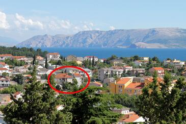 Selce, Crikvenica, Property 5481 - Apartments and Rooms with pebble beach.