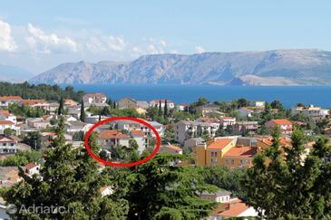 Selce, Crikvenica, Объект 5481 - Апартаменты и комнаты с галечным пляжем.