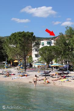 Crikvenica, Crikvenica, Property 5484 - Apartments near sea with pebble beach.