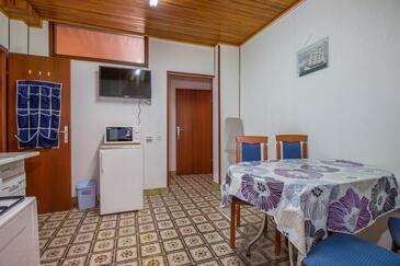 Crikvenica, Ebédlő szállásegység típusa apartment, dopusteni kucni ljubimci i WIFI.