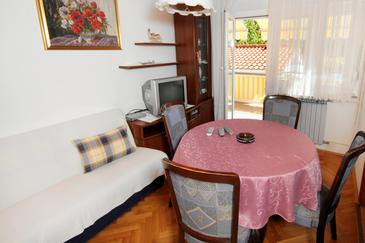 Selce, Dining room in the apartment, WIFI.