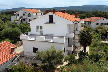 Krk, Krk, Property 5509 - Apartments and Rooms with pebble beach.
