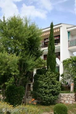 Klenovica, Novi Vinodolski, Property 5530 - Apartments with pebble beach.