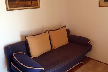 Selce, Dnevna soba v nastanitvi vrste apartment, dostopna klima in WiFi.