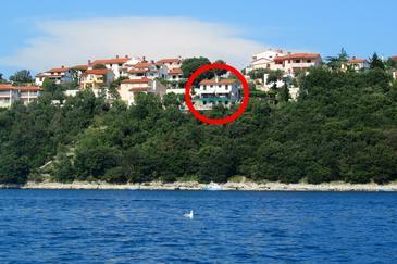 Duga Luka (Prtlog), Labin, Objekt 5535 - Ubytování v blízkosti moře.