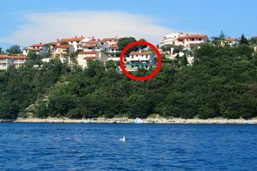 Duga Luka (Prtlog), Labin, Property 5535 - Apartments by the sea.
