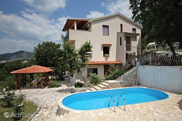Klenovica, Novi Vinodolski, Property 5538 - Apartments with pebble beach.