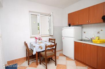Povile, Dining room in the studio-apartment.