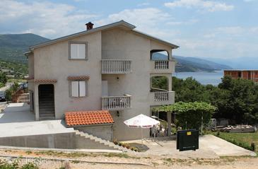 Povile, Novi Vinodolski, Property 5539 - Apartments with rocky beach.