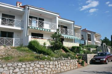 Klenovica, Novi Vinodolski, Property 5542 - Apartments with pebble beach.