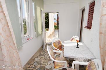 Novi Vinodolski, Dining room in the apartment, dopusteni kucni ljubimci.