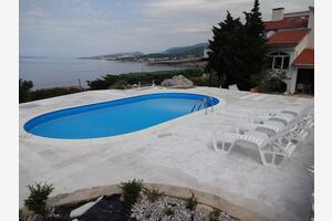 Apartmány s bazénem Klenovica, Novi Vinodolski - 5548
