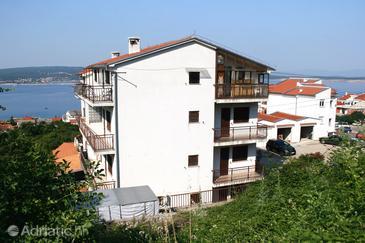 Crikvenica, Crikvenica, Objekt 5549 - Ubytování s oblázkovou pláží.