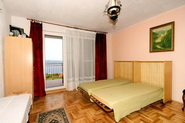 Crikvenica, Living room in the studio-apartment, WIFI.