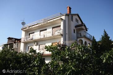 Crikvenica, Crikvenica, Objekt 5555 - Ubytování s oblázkovou pláží.
