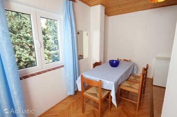 Klenovica, Dining room in the apartment, WiFi.