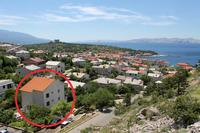Apartments with a parking space Senj - 5562