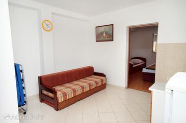 Senj, Wohnzimmer in folgender Unterkunftsart apartment, WiFi.