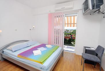 Senj, Bedroom in the room, air condition available and WiFi.