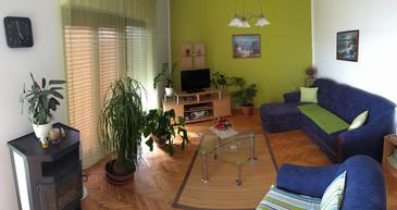 Dramalj, Living room in the apartment, WIFI.
