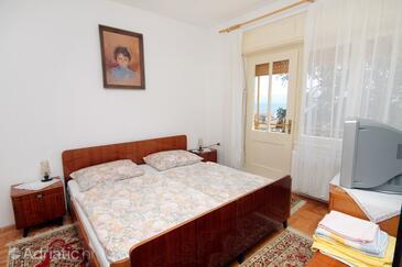 Novi Vinodolski, Spálňa v ubytovacej jednotke room, WIFI.