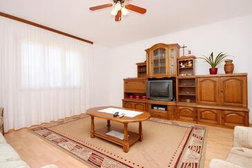 Tri Žala, Pokój dzienny w zakwaterowaniu typu apartment, dopusteni kucni ljubimci i WIFI.