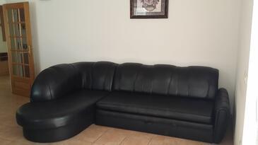 Tri Žala, Obývací pokoj v ubytování typu apartment, dopusteni kucni ljubimci i WIFI.