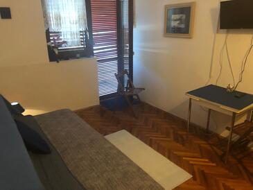 Klenovica, Гостиная в размещении типа room, Домашние животные допускаются.