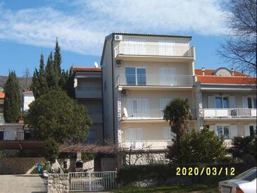 Dramalj, Crikvenica, Objekt 5596 - Ubytování v blízkosti moře s oblázkovou pláží.
