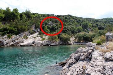 Prapatna, Brač, Objekt 5624 - Ubytování v blízkosti moře.