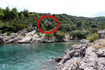 Uvala Prapratna, Brač, Property 5624 - Vacation Rentals by the sea.