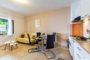 Pučišća, Obývací pokoj v ubytování typu apartment, WiFi.