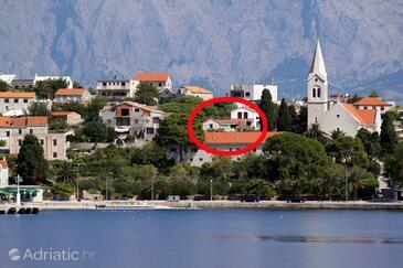 Sumartin, Brač, Объект 5645 - Апартаменты и комнаты вблизи моря с галечным пляжем.