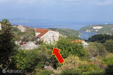 Bobovišća, Brač, Property 5652 - Vacation Rentals with pebble beach.