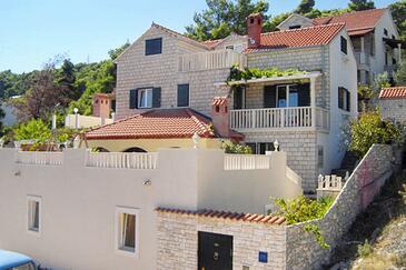 Postira, Brač, Property 5661 - Vacation Rentals with pebble beach.