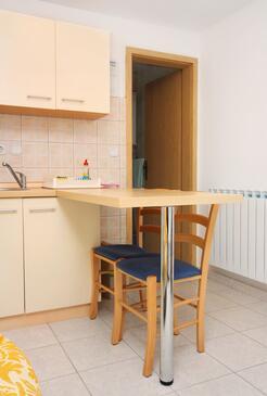 Splitska, Jadalnia w zakwaterowaniu typu studio-apartment, dopusteni kucni ljubimci i WIFI.