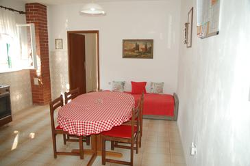 Supetar, Dining room in the apartment, (pet friendly) and WiFi.