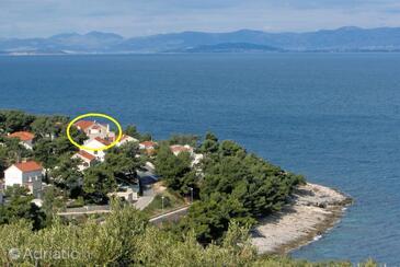 Postira, Brač, Property 5672 - Apartments near sea with pebble beach.