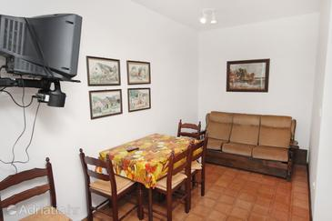 Supetar, Dining room in the apartment, dopusteni kucni ljubimci i WIFI.