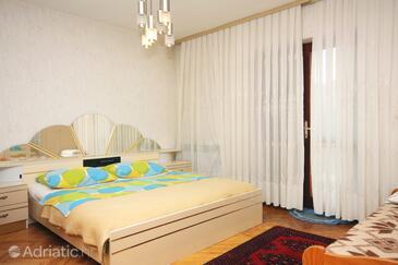 Stari Grad, Ložnice 1 v ubytování typu room, s klimatizací, domácí mazlíčci povoleni a WiFi.