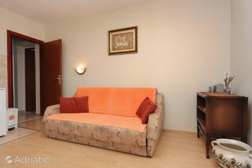 Stari Grad, Living room in the apartment, air condition available and WiFi.