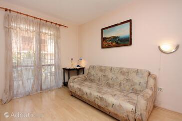 Stari Grad, Obývací pokoj v ubytování typu studio-apartment, s klimatizací a WiFi.