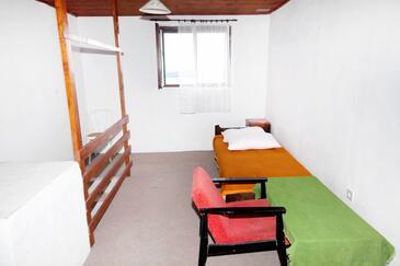 Zavala, Obývací pokoj v ubytování typu house, domácí mazlíčci povoleni.